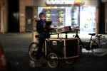 Projection Trike built to order for Urban Projections Ltd