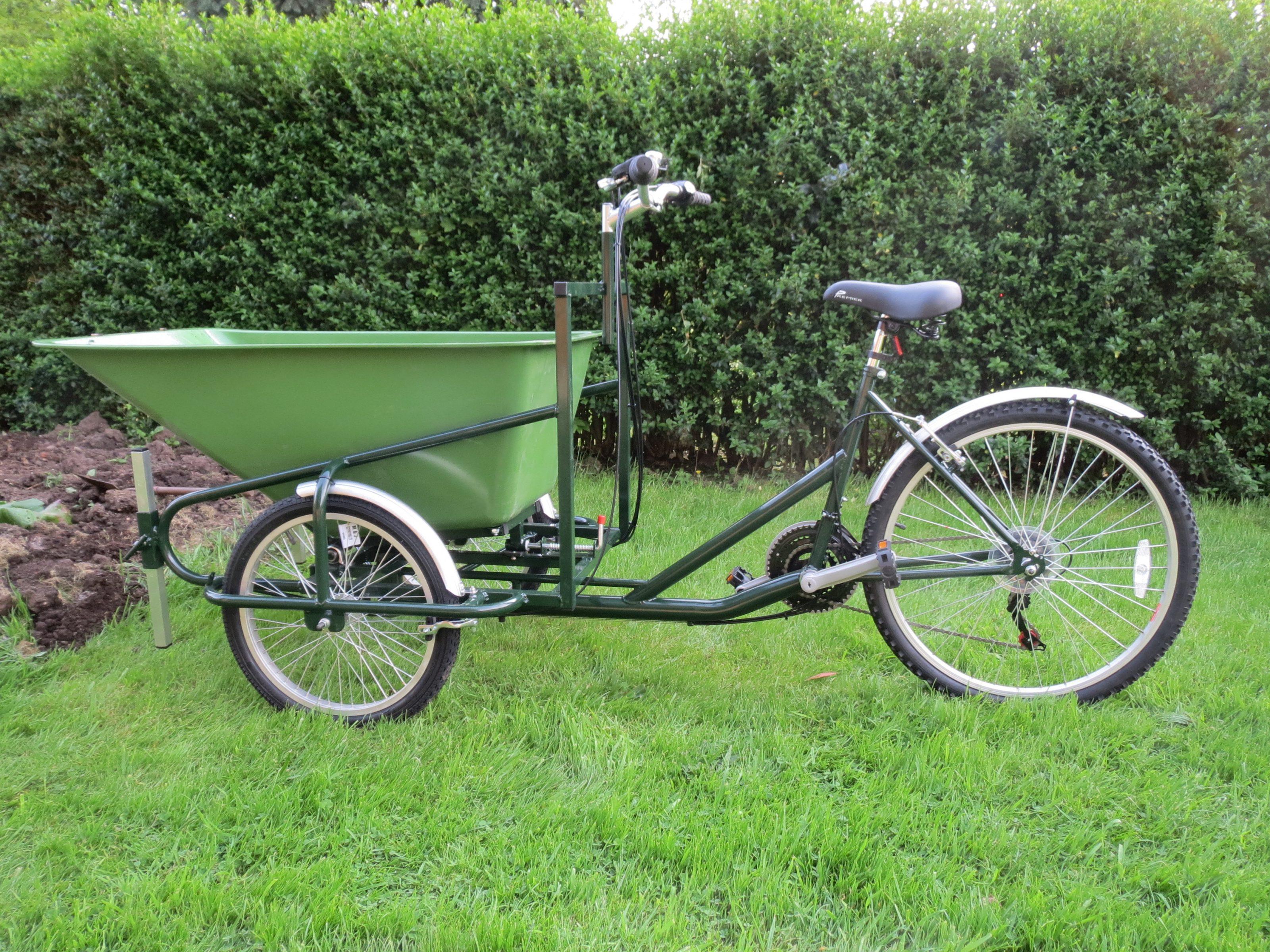 Barrow Trike A Wheelbarrow Bike The Cargo Bike Company