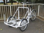 The bare projection trike chassis - ready for you to fit your own projection box