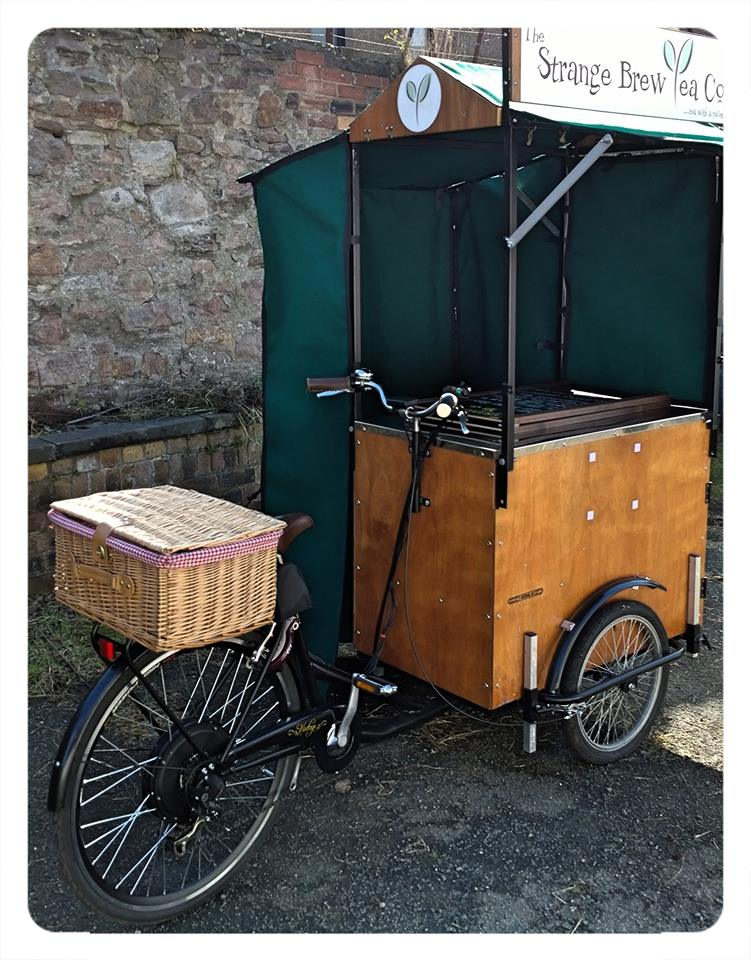 & Coffee Trike | Affordable Barista Vending Tricycles