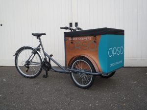 Thermal food delivery trike