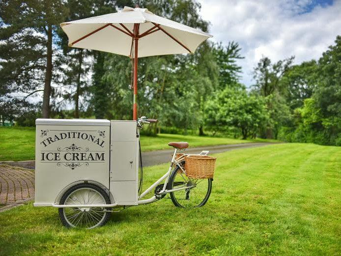 how to build an ice cream cart