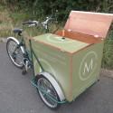 Cafe food delivery bike