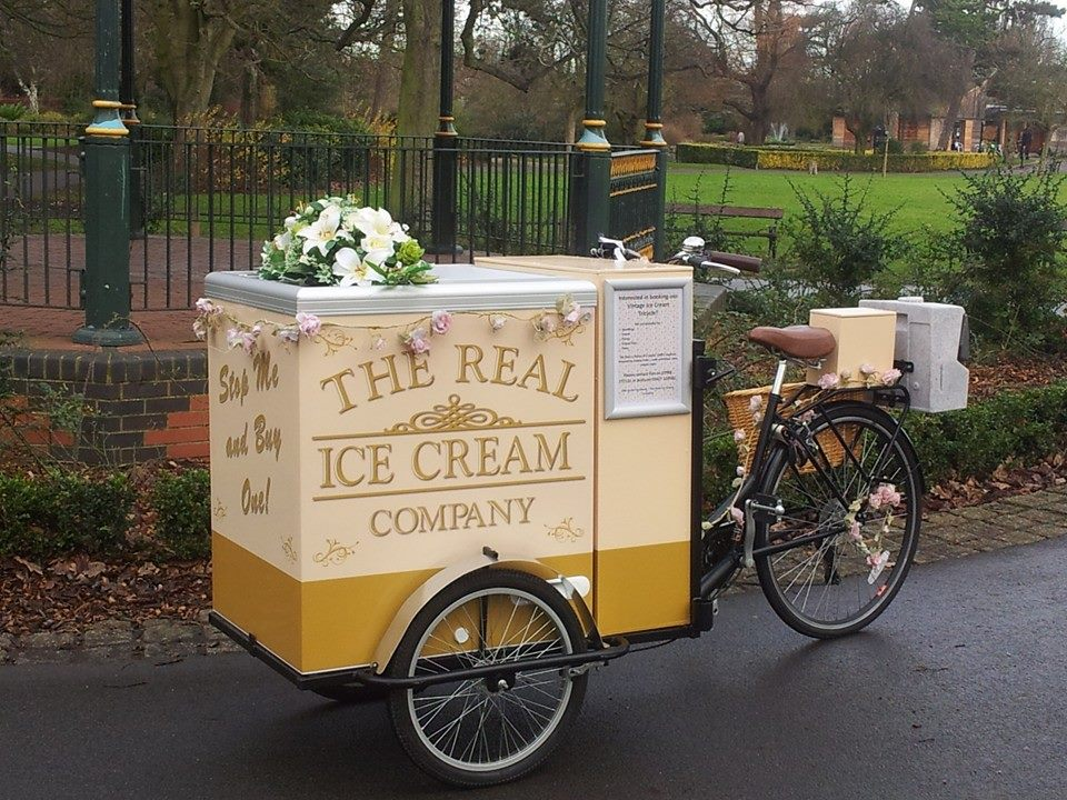 Ice cream trike hire for weddings