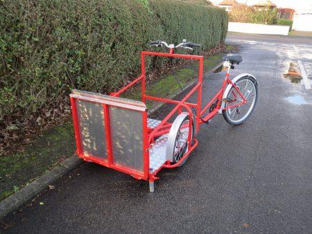 Wheelchair platform trike