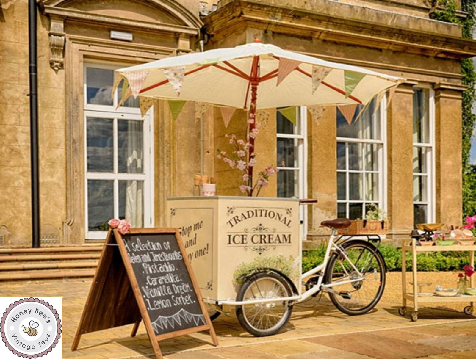Traditional Ice cream bike