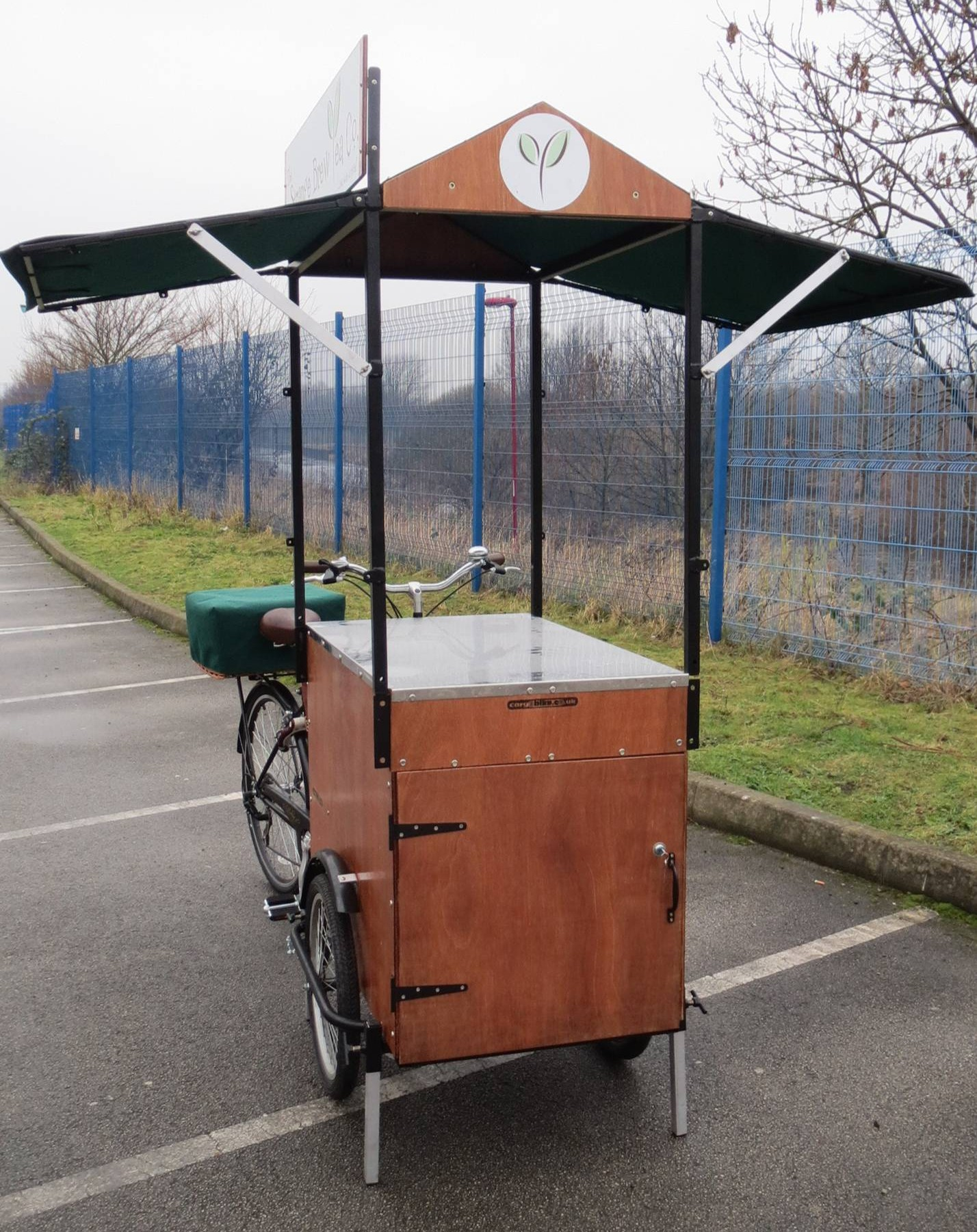 Coffee trike for sale