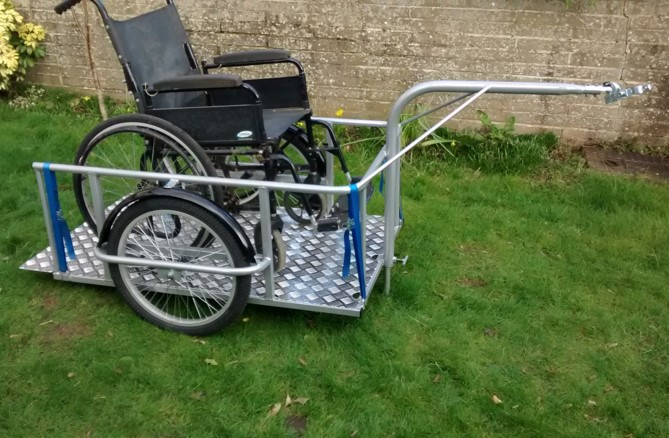 Disabled trailer